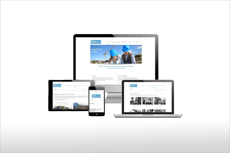 Digitalfeuer ArbeitenLandingpage System für PR hoch drei