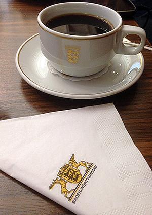 Auf einen Kaffee im Staatsministerium